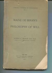 Maine De Biran's Philosophy of Will
