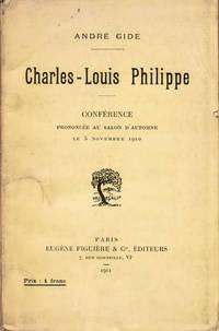 Charles-Louis Philippe, conférence prononcée au salon d'automne le 5 novembre 1910