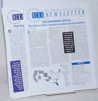 NCLR: National Center for Lesbian Rights Newsletter Spring 1995 and Fall 1996 [two issues]