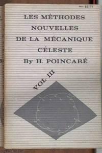 image of Les Methodes Nouvelles De La Mecanique Celeste Volume III
