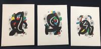 Joan Miro. La Melodie Acide portfolio with 14 lithographs.