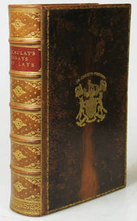 essays and lays of ancient rome Lord macaulay's essays and lays of ancient rome bound in full dark blue calf binding lord macaulay london: longmans, green & co, 1897 in good condition inside.