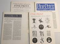 image of Fine Print : A Review For The Arts of The Book (1979 Quarterly Set) Vol 5,  Nos 1 - 4