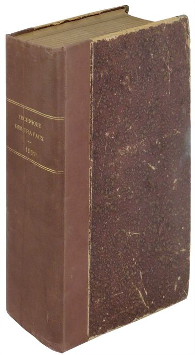 Paris: Societe des Pieux Franki, 1928. Hardcover. Very Good. Hardcover. 12 issues bound together wit...