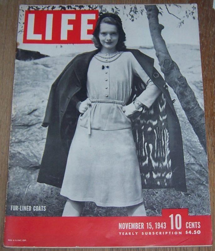 LIFE MAGAZINE NOVEMBER 15, 1943, Life Magazine