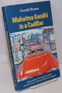 image of Mahatma Gandhi in a Cadillac