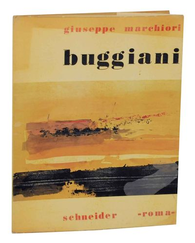 Roma: Schneider, 1960. First edition. Softcover. Text by Giuseppe Marchiori in Italian and with an E...
