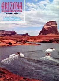 ARIZONA HIGHWAYS : LAKE POWELL, January 1964, Volume XL (40), No 1