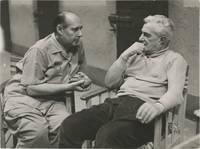 General Della Rovere [Il Generale Della Rovere] (Original photograph of Roberto Rossellini and Vittorio De Sica from the set of the 1959 film)