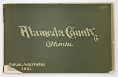 Oakland, Cal: Tribune Publishing Co., Printers, 1898. 1st edition thus, and 2nd edition overall. Not...