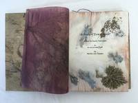 A Route of Evanescence. A Poem by Emily Dickinson in an Eco Printed Book