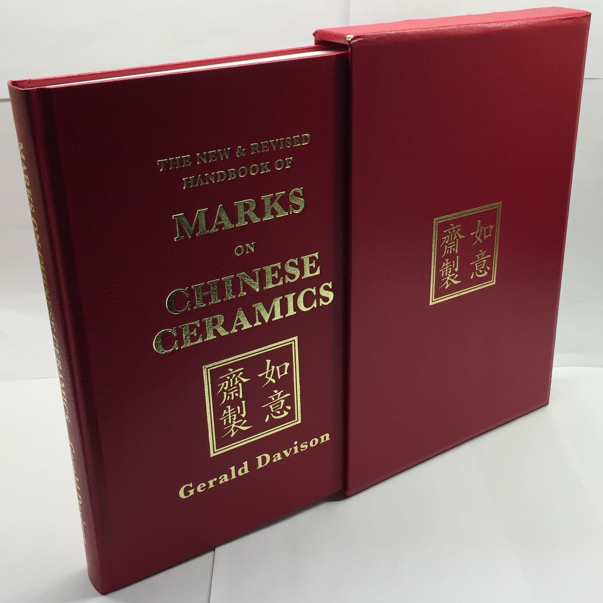 Of on chinese handbook the ceramics marks Handbook of