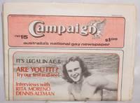 Campaign: Australia's national gay newspaper #15, December 1976