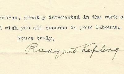7/4/14. Rudyard Kipling The Scouting program has used themes from The Jungle Book by Rudyard Kipling...