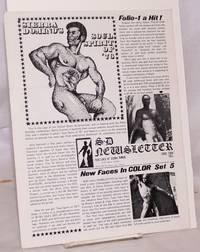 image of S. D. newsletter [Sierra Domino newsletter] no. 4; Fall 1975