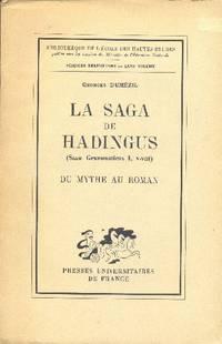 La saga de Hadingus (Saxo Grammaticus I, V-VIII).  Du mythe au roman