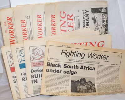 Detroit: Revolutionary Workers League, 1994. Newspaper. Nine issues of the tabloid format newspaper,...