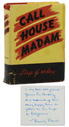 View Image 1 of 6 for Call House Madam: The Story of the Career of Beverly Davis Inventory #140939629
