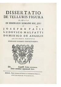 Dissertatio de Telluris Figura habita in Seminario Romano So. Jesu...