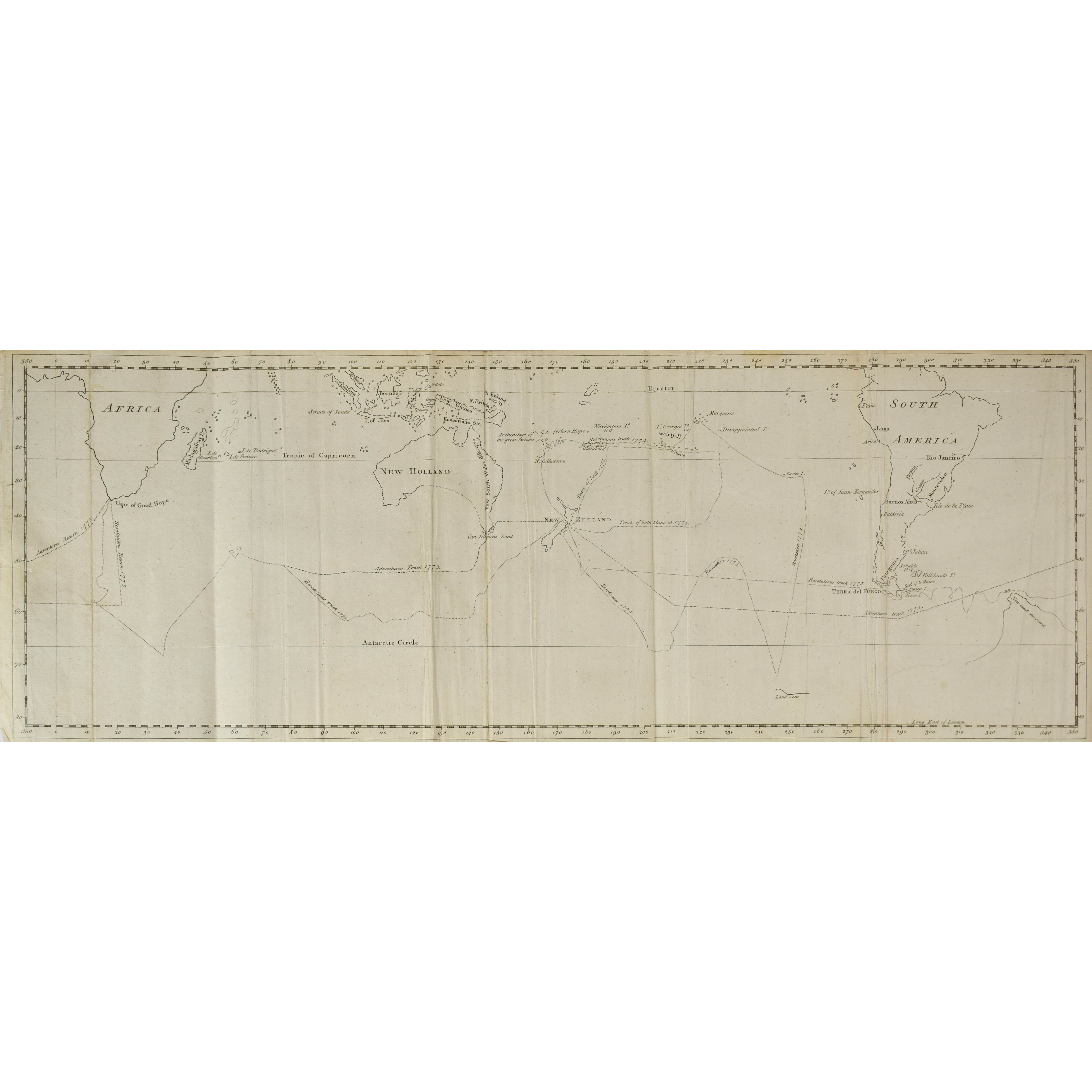 A Journal of Captain Cook's Last Voyage to the Pacific Ocean, on Discovery: Performed in the Years 1776, 1777, 1778, 1779, and 1780 Illustrated with Cuts and Charts, shewing the Tracks of the Ships employed in this expedition. (photo 3)