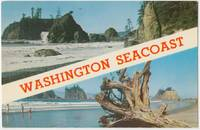 Washington Seacoast, Pacific Ocean, unused Postcard