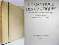 LE CANTIQUE DES CANTIQUES (1951, IN FOLDER & SLIPCASE)  Traduction D'Andre  Chouraqui