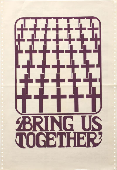 Berkeley: Berkeley Political Poster Workshop, 1970. Vintage double-sided Vietnam War protest poster,...