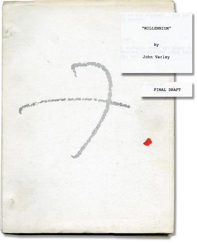 Los Angeles: Twentieth Century-Fox, 1989. Final Draft script for 1989 science fiction film, adapted ...