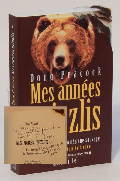 Paris: Editions Albin, 1997. Paperback. Signed and inscribed by author to actor Margot Kidder: