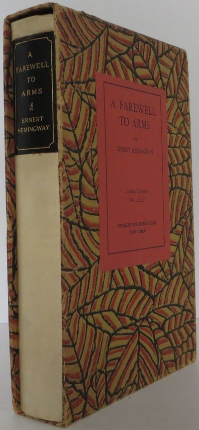 New York: Scribners, 1929. Signed limited edition. hardcover in slipcase. Fine. A fine signed limite...