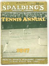 [TENNIS] SPALDING'S TENNIS ANNUAL 1927