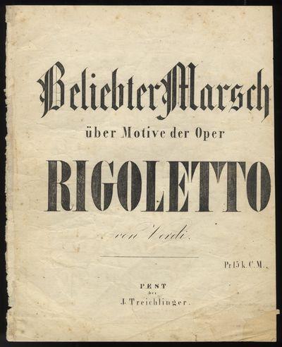 Pest: J. Treichlinger, 1853. Folio. Disbound. (lithographic title by Steger), 2-3, (blank) pp. Engra...