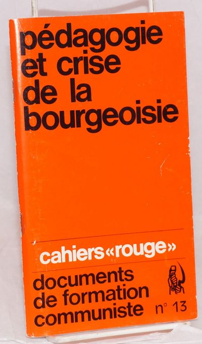 Paris: François Maspero, 1969. 84p., staplebound booklet, very good. Text in French. Cahiers