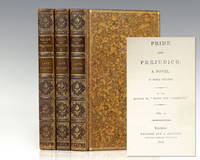 """image of Pride and Prejudice: A Novel. In Three Volumes by the Author of """"Sense and Sensibility."""""""