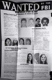 Vintage original FBI WANTED POSTER- IN SPANISH- Patty Hearst / Harris May 25, 1974