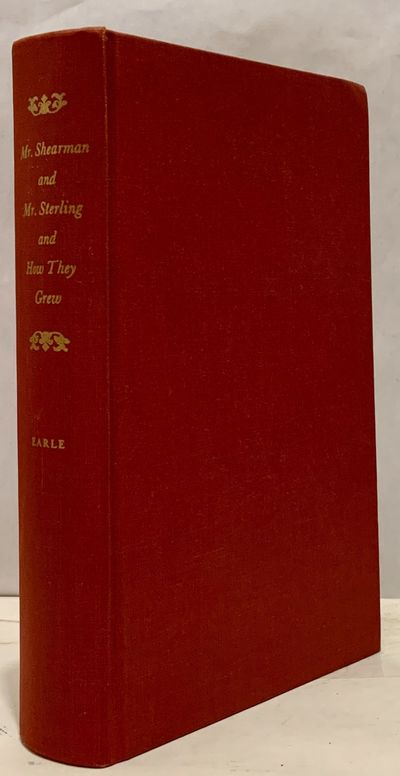 Np: Shearman and Sterling, 1963. First edition. Hardcover. Index. Orig. brick cloth. Near fine. 443 ...