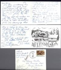 THREE PAGE FOLDED ALS FROM JIM O'ROARK, [Miller's Eye Doctor] 14 / 08 [77] to Henry Miller