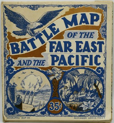 New York: Geographia Map Company, 1940. Very Good binding. A World War II era map of the Pacific The...
