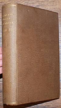 Parish Magazine 1880 with Magazine for St. Mary's Parish, Hull (Yorkshire)