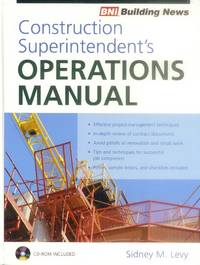 image of Construction Superintendent's Operations Manual (BNI Building News)