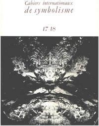 image of Cahiers internationaux de symbolisme n° 17-18