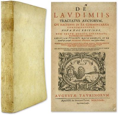 1629. Turin, 1629.. Turin, 1629. Uncommon Collection of Legal Tracts Solsona, Francisco de, Editor. ...