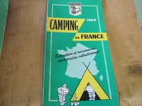 Michelin Camping in France 1959 Situation et Ressources De Terrains selectionnes