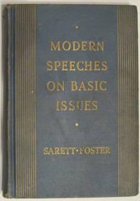 Modern Speeches on Basic Issues