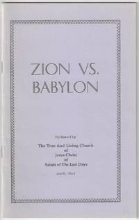 Zion vs. Babylon