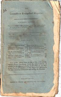 The Connecticut Evangelical Magazine Vol. III No. 12 June, 1803