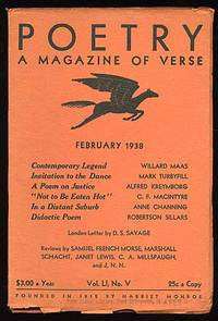 Poetry: A Magazine of Verse February 1938