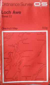Loch Awe sheet 52 One-inch map