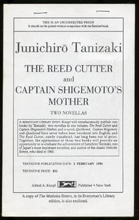 image of The Reed Cutter and Captain Shigemoto's Mother