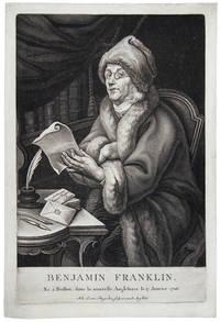 Benjamin Franklin. Ne a Boston, dans la nouvelle Angleterre le 17 Janvier 1706